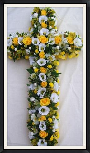 funeral tributes made to order in your choice of flowers and colours